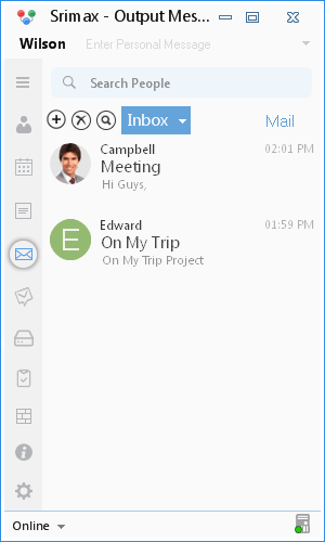 Lan Instant Messenger Compose Mail
