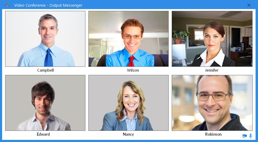 Output Messenger Make Video Conferencing