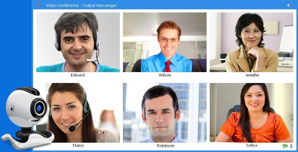 Instant Messenger Video Conferencing