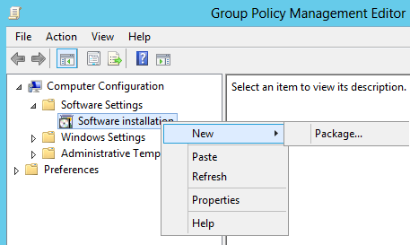 Deploy MSI and MST Installer with Group Policy - Output