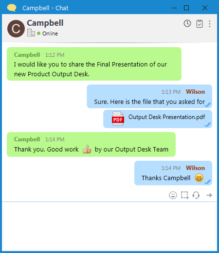 Output Messenger|Office Chat Software|LAN Messenger